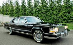 Cadillac Brougham (Fleetwood name transferred to front-drive Cadillac models in early nineties)