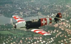 """british-eevee: """" Swiss BF-109 E-3 in flight (Date and location unknown) """""""