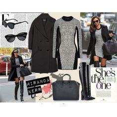 Miranda Kerr, cute oufit, LOVE the block dress - Aimee H