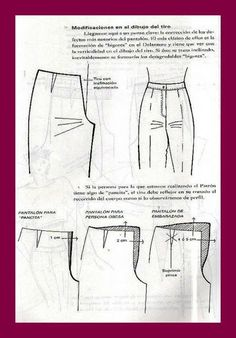 Most up-to-date Pic sewing pants alterations Popular Best Sewing Pants Alterations Trousers Ideas Sewing Patterns Free Home, Dress Sewing Patterns, Clothing Patterns, Techniques Couture, Sewing Techniques, Sewing Clothes Women, Diy Clothes, Pattern Draping, Sewing Shorts