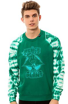 The Peace Plant Sweatshirt in Green by LRG