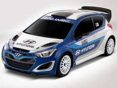 Hyundai WRC- World Rally Championship Race Car has been revealed by Hyundai. This car has turbocharged engine, sports suspension and other modifications. Hyundai I20, New Hyundai, Hyundai Cars, Sport Cars, Race Cars, Accent Hatchback, Peugeot 208, Reliable Cars, Hyundai Accent