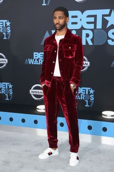 LOS ANGELES, CA - JUNE 25:  Big Sean at the 2017 BET Awards at Microsoft Square on June 25, 2017 in Los Angeles, California.  (Photo by Maury Phillips/Getty Images) via @AOL_Lifestyle Read more: https://www.aol.com/article/entertainment/2017/06/25/bet-awards-2017-red-carpet-arrivals/23000929/?a_dgi=aolshare_pinterest#fullscreen