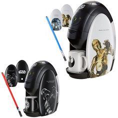 Star-Wars-Nestle-Gold-Blend-Coffee-Machine- Sólo por el objeto, no cambio nuestra máquina de expresso <3 por NADA