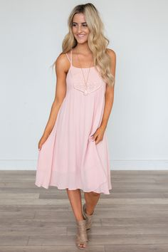 54ec9c6aa9 Midsummer Night s Dream Lace Midi Dress - Pink Pink Midi Dress