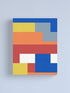 'Lego Deco' Canvas Print by Mark Vickers Innovative Office, Classic Lego, Tape Art, Mini Canvas Art, Abstract Canvas, Diy Painting, Doodle Art, Artsy Fartsy, Soaps
