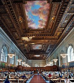NY Public Library - Fifth Ave and 42nd St