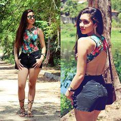 More looks by Suene Fernandes: http://lb.nu/suene  #casual #romantic #sporty #shorts #jeans #sunglasses #body