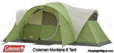 See why the Coleman Montana 8 family camping tent is the #1 top-selling family tent that family campers are really buying! Not just what promo's say.  Coleman is still the top choice of family campers.