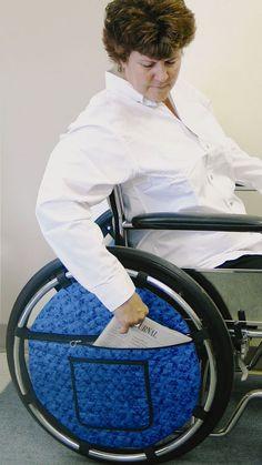 Wheelchair Wheel Pouch