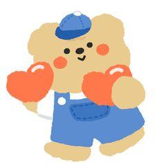 Cute Pastel Wallpaper, Soft Wallpaper, Bear Wallpaper, Kawaii Wallpaper, Wallpaper Iphone Cute, Cute Wallpapers, Simple Doodles, Cute Doodles, Cute Bear Drawings
