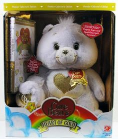 White Heart of Gold Care Bear Premier Collectors Edition