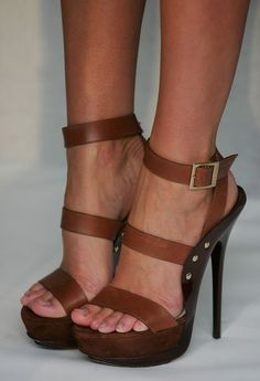 Jimmy Choo...these shoes are from the Spring 2011 collection (I believe), but they're still HOTTTT!