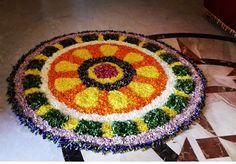 Flower Rangoli, Beach Mat, Gold Jewelry, Outdoor Blanket, Fashion Jewelry, Rugs, Flowers, Decor, Farmhouse Rugs
