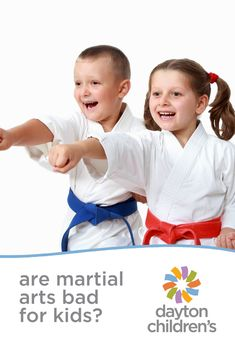 are martial arts bad for kids?