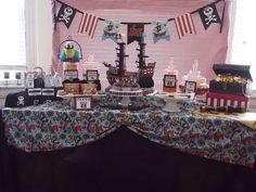 Tristan's PIRATE PARTY | CatchMyParty.com