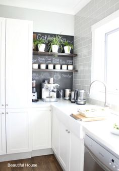 Today I have a beautifully designed hampton's style kitchen to show you. This kitchen belongs to my friend Jo, who lives here on the Mornington Peninsula with her husband and four children. Kitchen Stools, Ikea Kitchen, Kitchen Decor, Kitchen Cabinets, Kitchen Ideas, Hamptons Style Homes, The Hamptons, Updated Kitchen, Kitchen Updates