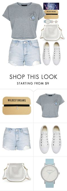 """""""Rockets"""" by atarituesday ❤ liked on Polyvore featuring New Look, Topshop, Converse, Cynthia Rowley, The Horse and Givenchy"""
