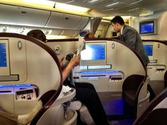 Business Class, Thai Airways