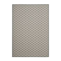 This rugged indoor/outdoor rug's geometric link is framed in a triple stripe border for just the right amount of movement. Shop Ballard Designs today!