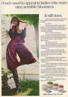 Ponds Ad 1970. Wow! I still use this