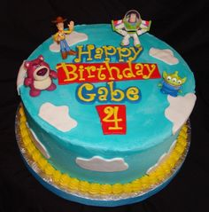 do it yourself toy story birthday cakes - Google Search