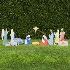 Outdoor Nativity Store Classic Outdoor Nativity Set Full Scene * You can find out more details at the link of the image. (This is an affiliate link) White Nativity Set, Large Nativity Sets, Outdoor Nativity Sets, Christmas Nativity Set, Christmas Yard Art, Christmas Ideas, Christmas Printables, Outdoor Santa, Christmas Crafts
