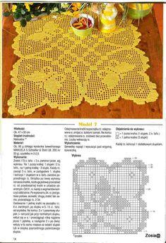 Салфетки с бабочками 2 схема