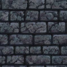 【TEXTURE】-Hand Painted - Low Poly - Wall07 , CGSHARE Book on ArtStation at https://www.artstation.com/artwork/qY3lD