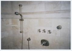 Custom steam shower with tile walls. http://www.jpmoorehomeimprovements.com/our-services/bathroom-remodeling/