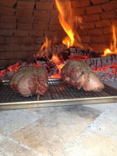 Leg of Lamb in the Italian Wood Fired Oven (via Cook with Cook)