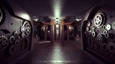 adoredesign: Steampunk spaceship