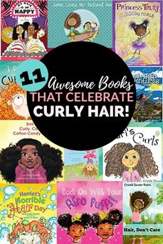 Looking for books that celebrate curly hair? Read this list for awesome books fo. - Looking for books that celebrate curly hair? Read this list for awesome books for girls with curly -