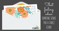 I just received a Care2 eCard from Trish Kendall.  Check it out!  Care2 eCards - Send an eCard,…