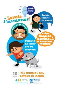 Resultado de imagen para afiches motivando la practica de habitos de higiene para evitar emfermedades