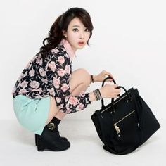 HARU  Oversize Tote with Crossbody Strap  YesStyle Price  US $132.00