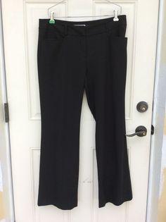 Michael Kors Women's Size 10 Short Gramercy Fit Black Slacks #MichaelKors #DressPants