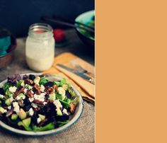 Roasted Beet and Goat Cheese Salad with Candied Walnuts | Guilty Kitchen