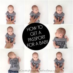 How to get a passport for baby!