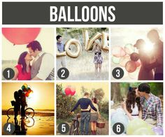 Prop Ideas For Couples: Balloons