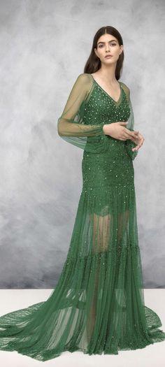 Logical 2016 New Style Sexy V Neck Cap Sleeves Lace Evening Dresses Kate Middleton Jenny Packham Green Celebrity Red Carpet Dresses Delicious In Taste Celebrity-inspired Dresses