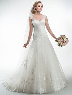 Briony Wedding Dress by Maggie Sottero | front