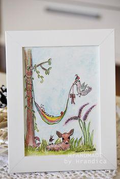 Ilustration of a Luckybug by Hrandica  SREČNOLONICA DOJENČEK https://www.facebook.com/HrANDMADE-by-Hrandica-142051469180427/