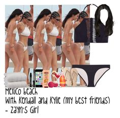 """Mexico beach with Kendall and Kylie (my best friends) - Zayn's Girl"" by fxrever-isnt-for-everyone ❤ liked on Polyvore featuring Zimmermann, Havaianas, 1888 Mills, Hawaiian Tropic, Eos and Lord & Berry"