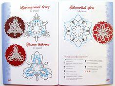 Книга: Снежинки, связанные крючком
