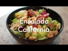 Ensalada California estilo Foster´s Hollywood - Recetas de Cocina