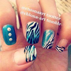 Photo by chlonaart  #nail #nails #nailart