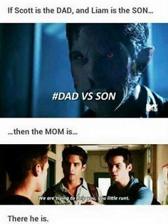 Sciles are parents and liam is there son
