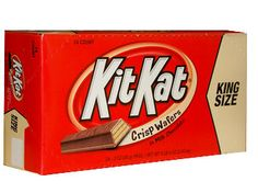 Kit Kat KING SIZE Chocolate Bar from Hershey. Need a break? Who doesn't? How about a Kit Kat Candy Bar – King Size? The Kit Kat wafer bar is a light, crispy wafer wrapped in chocolate. This unique candy is made so you can break off a piece to share,...