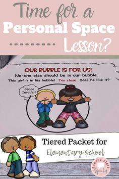 Differentiated packet for early and late elementary students to teach them the important #socialskills of personal space.  Each level includes a social story and activities.  The packet covers personal space on the rug, in a line and at a desk.  Also covers having respect for other student's classroom space and belongings.  Can be customized on TPT's digital overlay and assigned in #googleclassroom.  #personalspace #socialskills #emotionalregulation #specialeducation #schoolcounselor